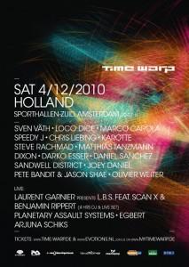 timewarp holland techno tour