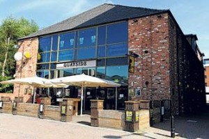 Quayside bar and pub Lincoln