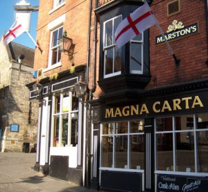 Magna Carta pub in Lincoln