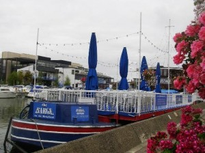 Barge on the Brayford Seafood restaurant