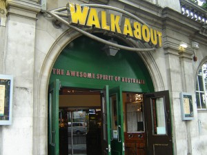 Walkabout bar in Lincoln