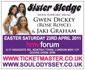 Soul Odyssey with Sister Sledge