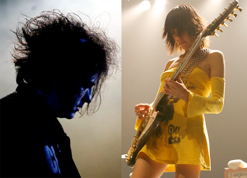 The Cure and PJ Harvey