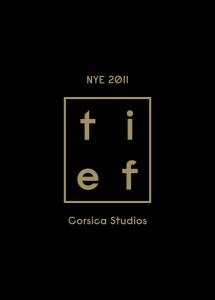 NYE 2011 Corsica Studios