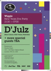 Wiggle Paramount at Centre Point London NYE 2011