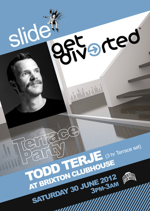 Slide & Get Diverted On The Terrace with Todd Terje